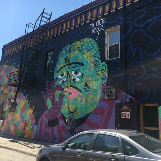 Detroit Eastern Market murals