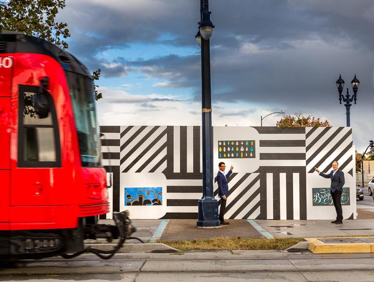Anthony Ghiglia IDEA1 Construction Fence & Trolly