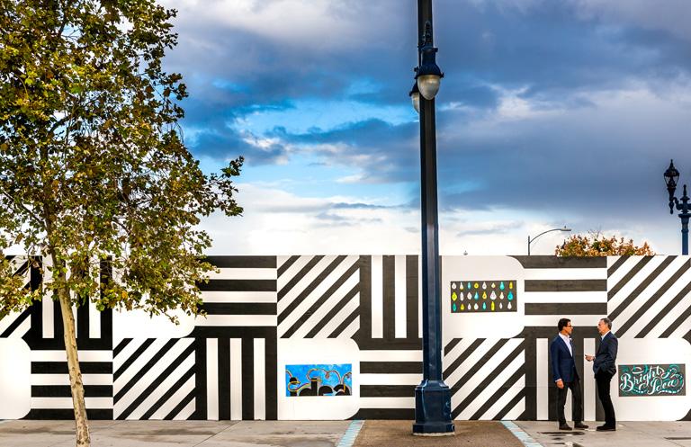 Anthony Ghiglia IDEA1 Construction Fence